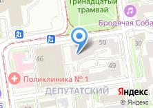 Компания «Сарэт-Сибирь» на карте