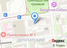 Компания «Комфорт-Автоматика Новосибирск» на карте