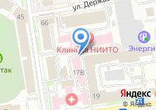 Компания «НИИТО» на карте