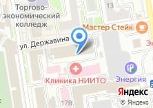 Компания «ГЕОГРАД инженерно-кадастровый центр» на карте