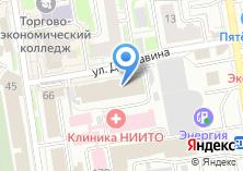Компания «ЮРИДИЧЕСКАЯ КОМПАНИЯ ПРАВОВАЯ ПЕРСПЕКТИВА» на карте