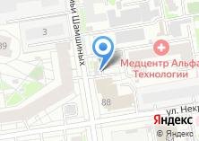 Компания «Люкс-Сервис Новосибирск» на карте