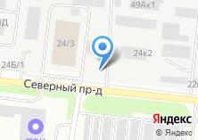 Компания «Закусочная на ул. Сибиряков-Гвардейцев» на карте