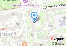 Компания «54.RU» на карте