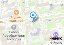 Компания «Адвокат» на карте