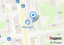Компания «Строящееся административное здание по ул. Семьи Шамшиных» на карте