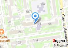 Компания «Городская парикмахерская №1» на карте