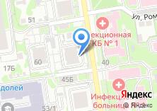 Компания «Строящийся жилой дом по ул. Романова» на карте