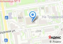 Компания «Визовый центр» на карте