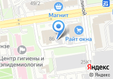Компания «ПроектСтрой» на карте