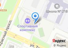 Компания «Региональный спортивный центр по фехтованию Новосибирской области» на карте
