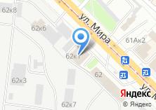 Компания «Жалюзи-центр» на карте