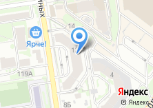 Компания «Апартаменты Аура» на карте
