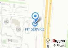 Компания «Севилья» на карте