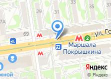 Компания «Golden Rose цветочный магазин» на карте