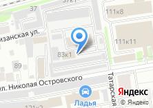Компания «Проект-НСК» на карте