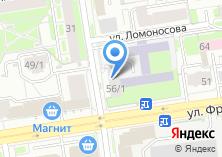 Компания «Новосибирский государственный университет экономики и управления» на карте