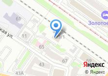 Компания «Строящееся административное здание по ул. Инская» на карте