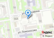 Компания «Строящееся административное здание по ул. Ломоносова» на карте