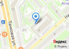 Компания «Техдиагностика-Сибирь» на карте