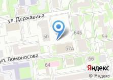 Компания «Новосибгеология» на карте