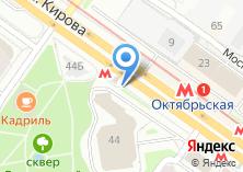 Компания «Станция Октябрьская» на карте