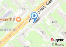 Компания «Дэфо-Новосибирск» на карте