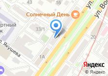 Компания «Vinstal» на карте
