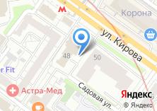 Компания «Строящееся административное здание по ул. Садовая (Октябрьский)» на карте