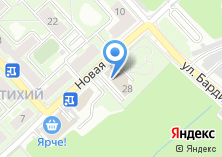 Компания «Антик» на карте