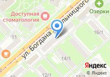 Компания «АКБ Российский капитал» на карте