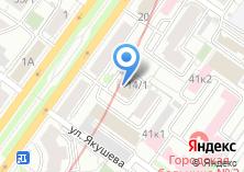 Компания «Таврида Электрик Новосибирск» на карте
