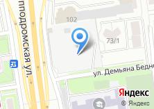 Компания «СДБ Мебель» на карте