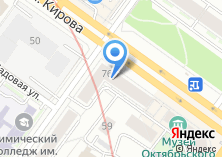 Компания «ЗЕВС» на карте