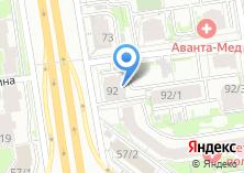 Компания «LaVanda» на карте
