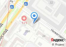 Компания «Сибирский Партнер» на карте