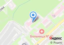 Компания «Новосибирский областной противотуберкулезный диспансер» на карте