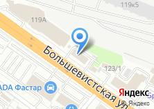 Компания «Инструмент 2001» на карте