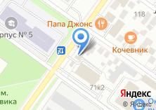 Компания «Труженик» на карте