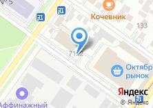 Компания «Магазин крепежа и инструмента» на карте