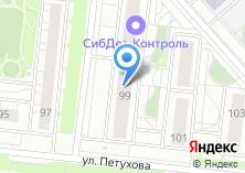 Компания «Флаке» на карте