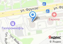 Компания «Строящееся административное здание по ул. Фрунзе» на карте