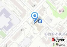 Компания «Инет Сервис» на карте