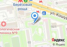 Компания «Тиффани» на карте
