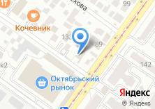 Компания «Краски-Замазки» на карте