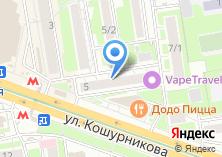 Компания «Анаконда & Co» на карте