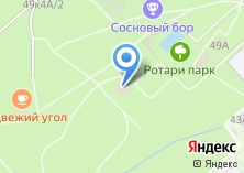 Компания «Сосновый бор» на карте