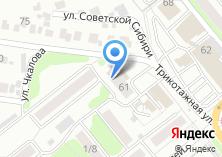 Компания «Сибколор» на карте