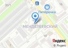 Компания «Мармеладка» на карте