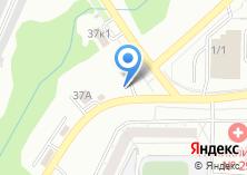 Компания «Автостоянка на ул. Курчатова» на карте